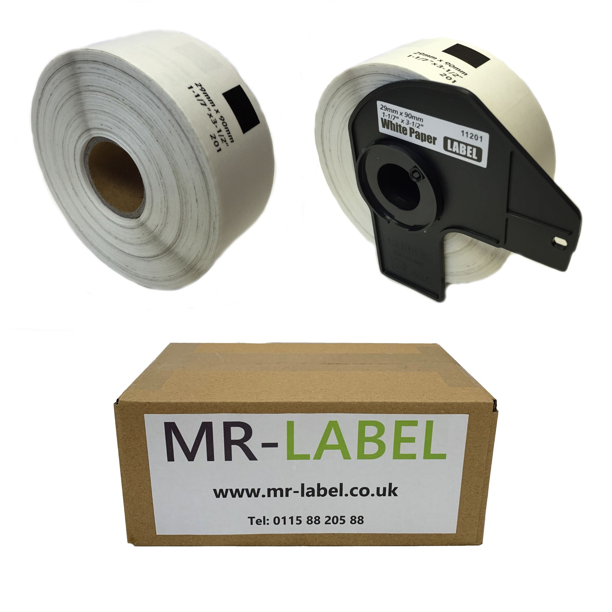 Pack of 5 Brother Compatible Labels DK-11208